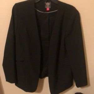 Vince Camuto black blazer.